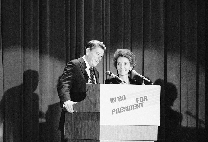 """In November 1979 Ronald Reagan unofficially announced his candidacy to millions of Americans in an interview with Tom Brokaw on NBC's """"Today"""" show in New York before making the official announcement at a Waldorf Astoria dinner that night."""