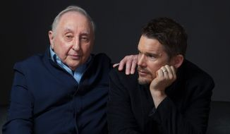 "Actor Ethan Hawke made a documentary about the remarkable life of piano prodigy and instructor Seymour Bernstein (left) titled ""Seymour: An Introduction."" The film has won raves on the festival circuit. (Associated Press)"