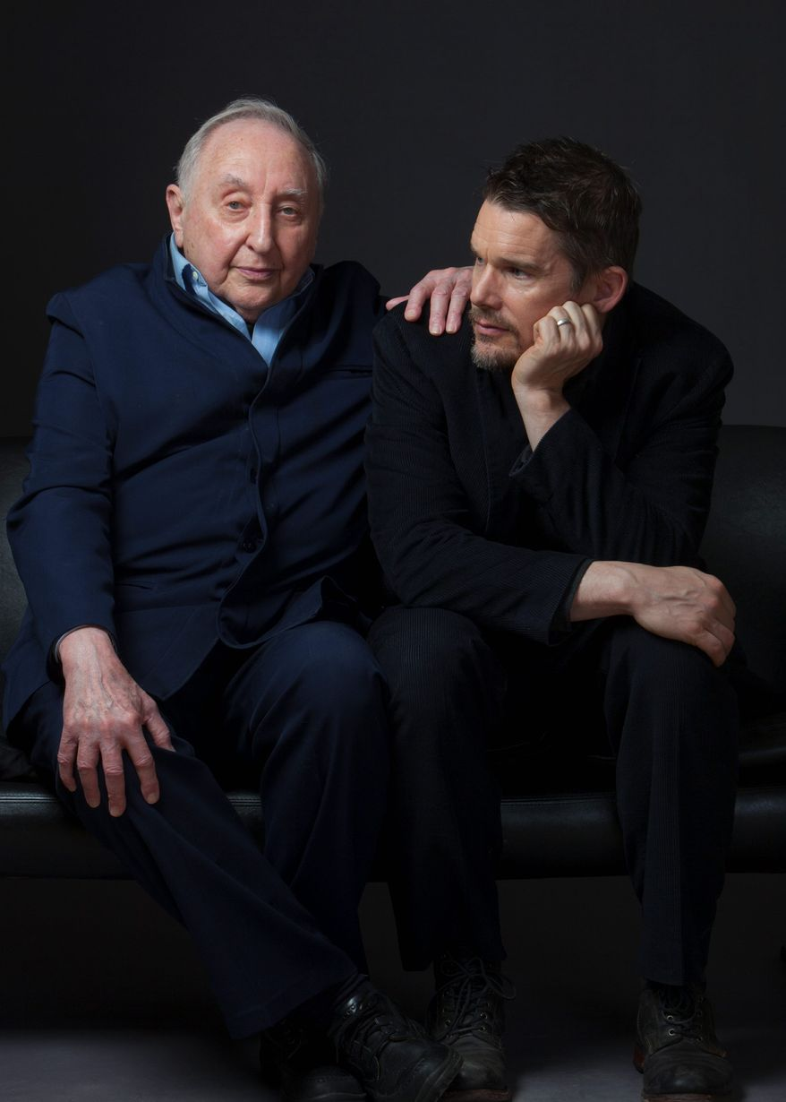 """Actor Ethan Hawke made a documentary about the remarkable life of piano prodigy and instructor Seymour Bernstein (left) titled """"Seymour: An Introduction."""" The film has won raves on the festival circuit. (Associated Press)"""