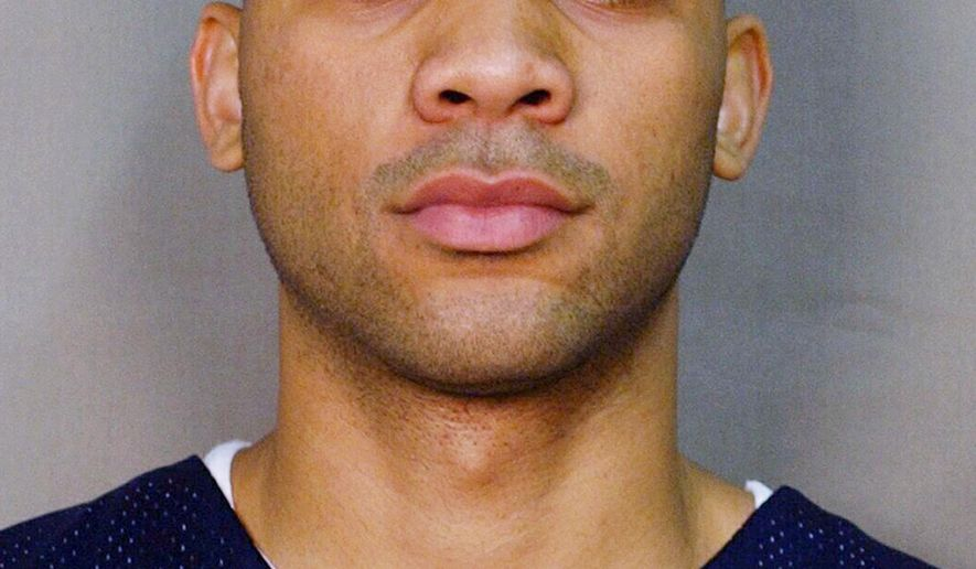 In this Octocer 2004 photo is University of Toledo basketball player Sammy Villegas in Toledo, Ohio. Villegas, who accepted at least $3,000 from a gambler to miss shots and make other mistakes, was sentenced to probation Tuesday, March 24, 2015 in a decade-old point-shaving scandal.  (AP Photo/The Blade, Lisa Dutton) MANDATORY CREDIT  MAGS OUT NO SALES  TV OUT  BOWLING GREEN SENTINEL-TRIBUNE OUT  THE MONROE EVENING NEWS OUT  TOLEDO FREE PRESS OUT