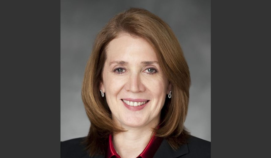 This 2012 photo provided by Morgan Stanley shows outgoing Chief Financial Officer Ruth Porat. Morgan Stanley on Tuesday, March 24, 2015, announced that Porat is leaving the New York investment bank for the same job at Google. (AP Photo/Camera 1 via Morgan Stanley, Larry Lettera)