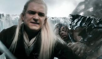 A fierce Legolas stars in the Blu-ray release of The Hobbit: The Battle of the Five Armies. (Courtesy of Warner Home Video)