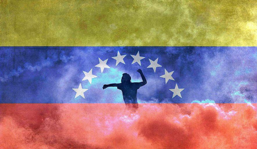 Venezuela unrest illustration by Greg Groesch/The Washington Times