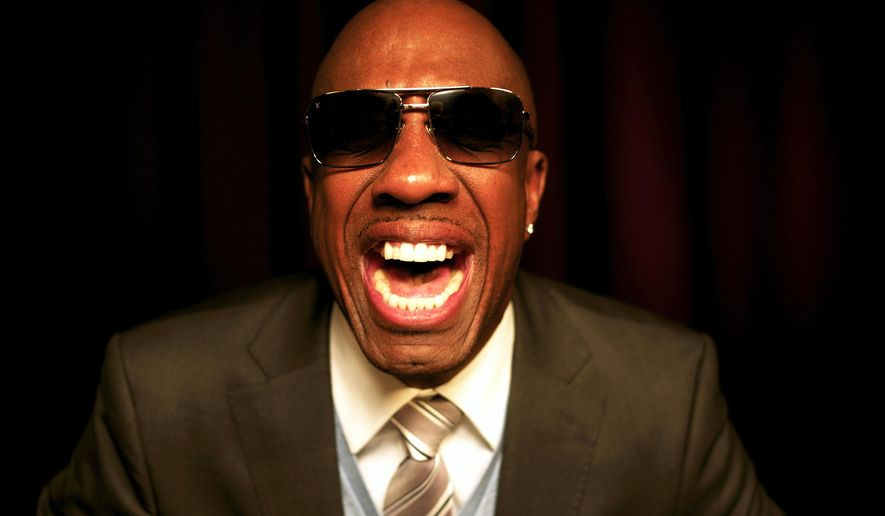 In this Feb. 13, 2015 file photo, actor-comedian J.B. Smoove appears during an interview in New York. Smoove will appear at the Garden of Laughs at Madison Square Garden in New York on Saturday, March 28, an event benefiting the Garden of Dreams Foundation. (AP Photo/John Carucci)