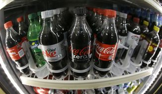 The lead author of a study on zero-calorie sweeteners says she has traded her diet soda for sparkling water with lime. (Associated Press/File)