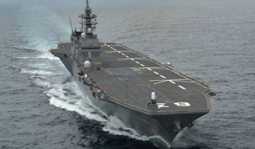 JS Izumo (DDH-183). (Image: Japan Maritime Self Defense Force)
