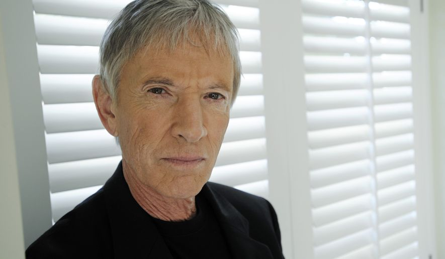 """Actor Scott Glenn, who plays former U.S. defense secretary Donald Rumsfeld in """"W."""", poses for a portrait at the Four Seasons Hotel in Beverly Hills, Calif., Tuesday, Oct. 7, 2008. (AP Photo/Chris Pizzello)"""