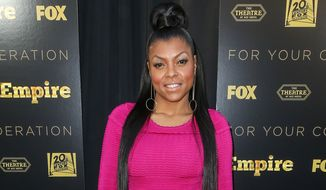 "Taraji P. Henson attends the LA Academy Screening of ""Empire"" at the Theater at the Ace Hotel, in Los Angeles. Henson has apologized to a Southern California police department that she accused of racially profiling her son. (Associated Press) ** FILE **"