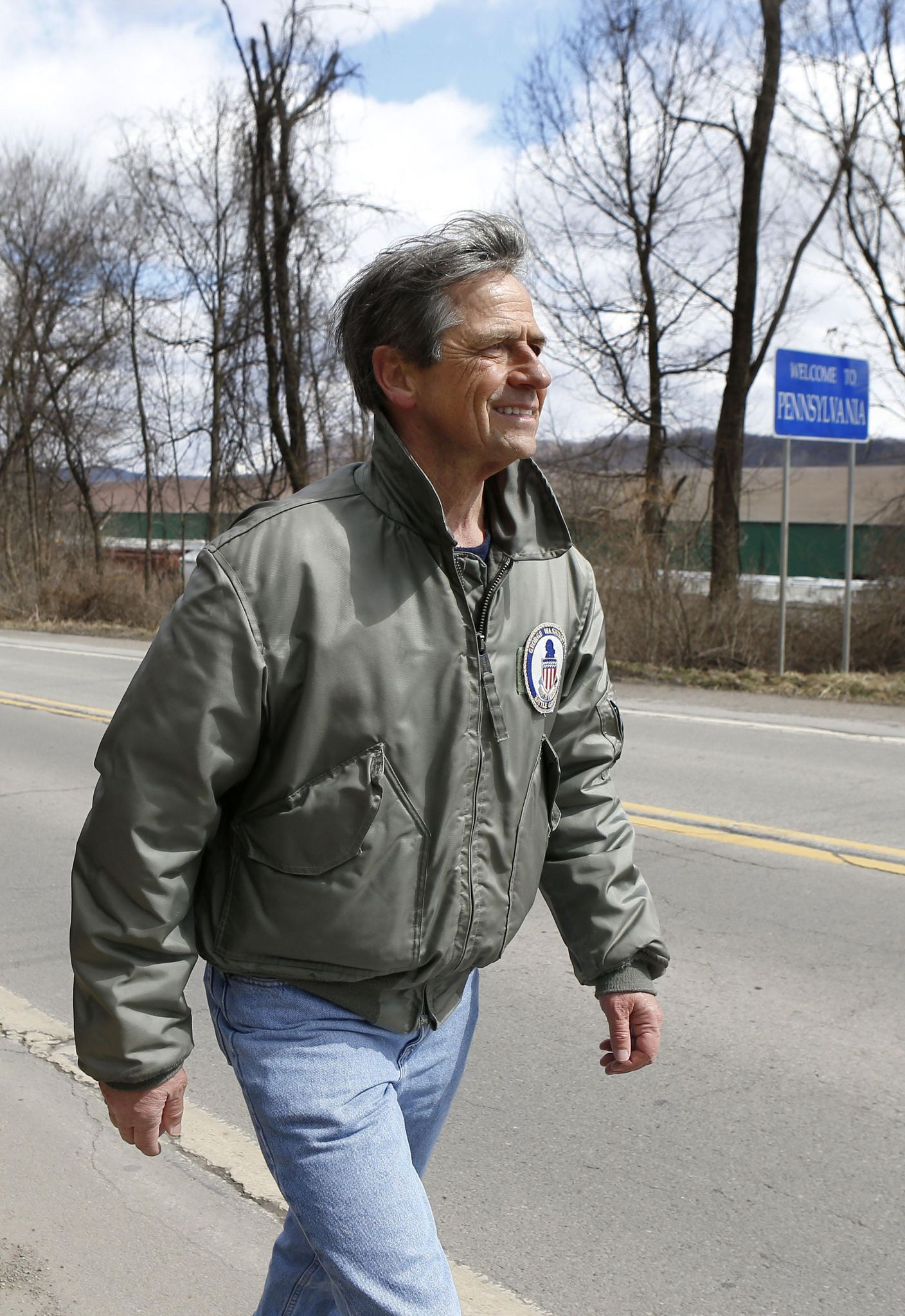 photo image Joe Sestak launches 2020 presidential campaign for Democratic nomination