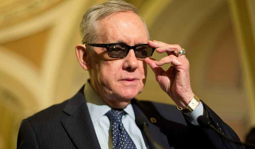 Senate Minority Leader Harry Reid, Nevada Democrat. (Associated Press)