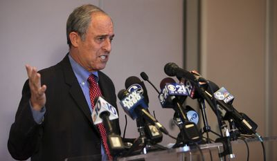 Lanny Davis, a prominent Democratic lawyer in Washington, said he strongly disagreed with Virginia State Bar Association's recent decision to cancel a trip to Jerusalem after some members campaigned against it. (Associated Press)