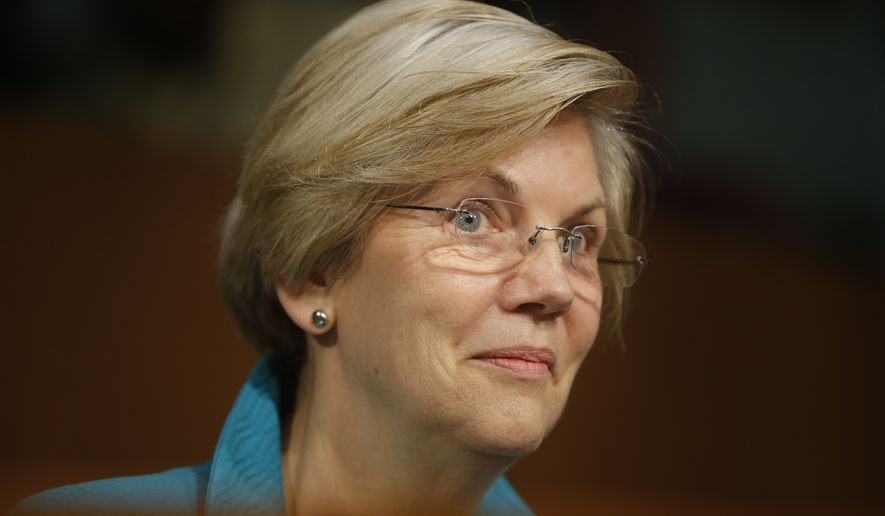 Sen. Elizabeth Warren has become a liberal leader both literally and symbolically, as she holds Edward M. Kennedy's old Senate seat after it briefly fell into the Republican hands of Scott Brown. Enthusiasm around Mrs. Warren now resembles the wild optimism that surrounded Mr. Obama's campaign in early 2008, when he received a coveted endorsement from Kennedy. (Associated Press)
