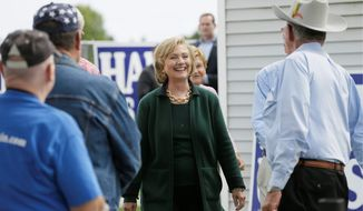 Former Secretary of State Hillary Rodham Clinton hasn't been to Iowa since the Tom Harkin steak fry in September, an annual event where she made amends with voters who opted for Barack Obama in the 2008 caucuses and hinted at a comeback run. She has made only a handful of public appearances anywhere. (Associated Press)