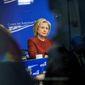 Former Secretary of State Hillary Rodham Clinton belatedly provided some emails nearly two years after she left the State Department, leaving the Obama administration to decide how to handle the matter. (Associated Press)