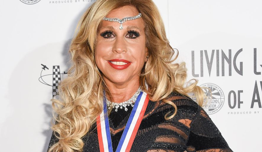 In this Jan. 16, 2015 photo, Wall Street executive Lynn Tilton attends the 12th Annual Living Legends of Aviation Awards at The Beverly Hilton Hotel in Los Angeles. The Securities and Exchange Commission on Monday, March 30, 2015 announced they filed civil fraud charges against Tilton and her Patriarch Partners group of investment firms. They are accused of concealing the poor performance of fund assets linked to loans to distressed companies. (Photo by Rob Latour/Invision/AP)