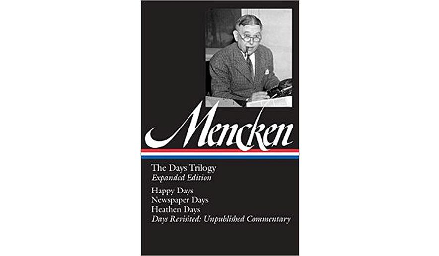 book review h l mencken the days trilogy washington times tweet