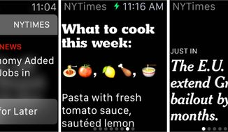 The New York Times has debuted a new form of storytelling: The one-sentence stories custom-crafted for the Apple Watch.