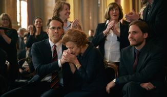 "Ryan Reynolds and Helen Mirren star in ""Woman in Gold,"" a film that tells the story of a woman and a family portrait."