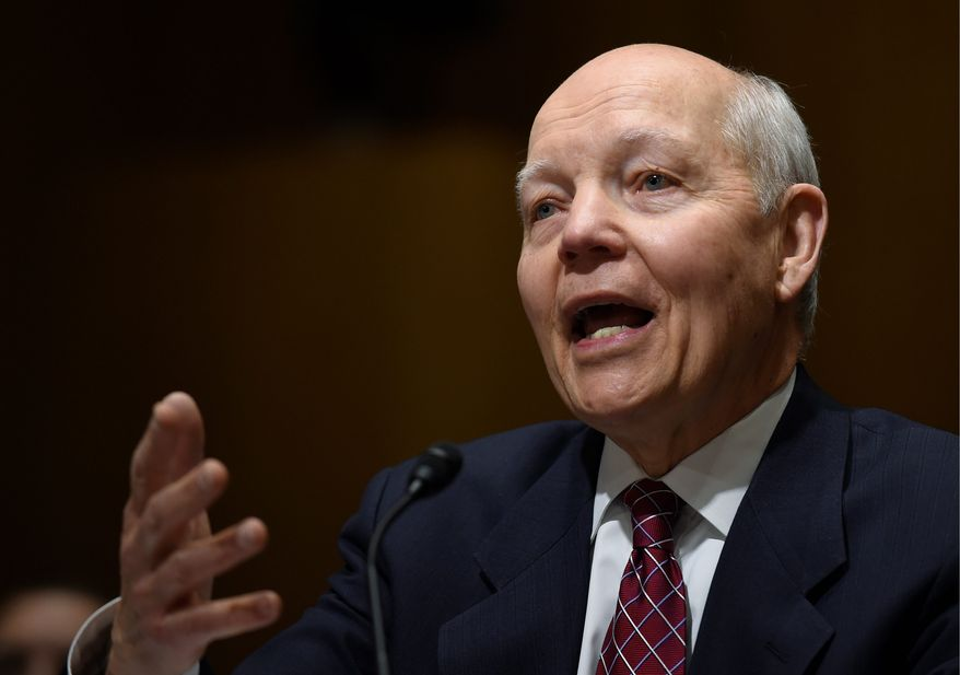 """Internal Revenue Service Commissioner John Koskinen said Tuesday that said the first year of Obamacare tax filings """"has gone smoothly,"""" which he said would have surprised a number of folks based on the botched rollout of the Obamacare website a year ago."""