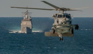 MH-60R Sea Hawk helicopter. (U.S. Navy)