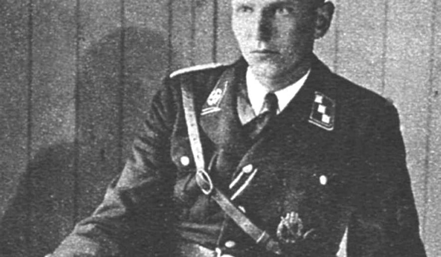 Soren Kam, a Danish Nazi wanted in his homeland for kidnapping and murder, died in Germany at the age of 93. (Image: Danish Criminal Archives)