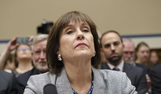 Lois Lerner is the former IRS official at the center of a controversy over how the agency treated conservative political groups. (Associated Press) **FILE**