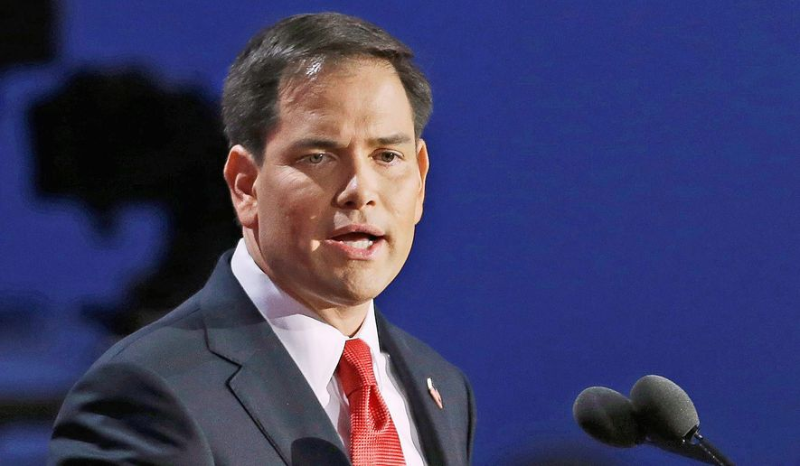 """Allowing Iran to retain thousands of centrifuges, keeping facilities such as Fordow open and not limiting Iran's ballistic missile program indicate to me that this deal is a colossal mistake,"" said Florida Sen. Marco Rubio. (Associated Press)"