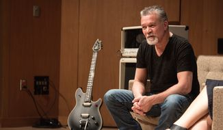 Guitarist Eddie Van Halen has been honored by the Smithsonian Institution for his contributions to American music. (Smithsonian Institution)
