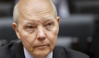 In a speech this week, IRS Commissioner John Koskinen insisted his agency has turned the corner on problems with employee behavior in recent years. (Associated Press)