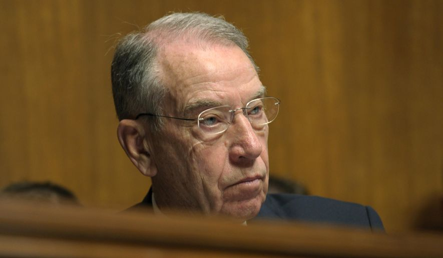 Sen. Chuck Grassley (AP Photo/File)