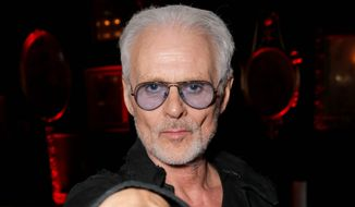 """Michael Des Barres on aging and motivation said, """"I think that you've got to be challenged. Without it, you wouldn't have motivation to get up in the morning. I'm a great believer in completing tasks."""" (Associated Press)"""