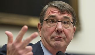 """A soldier at Fort Drum questioned Defense Secretary Ashton Carter about what he's doing to make sure service members are able to make a smooth, easy transition to civilian life. """"The way I think about it is there's only one soldier. Why should they have to put up with two Cabinet departments, right?"""" Mr. Carter responded. """"You guys shouldn't have to see all that. It should be seamless to you."""" (Associated Press)"""