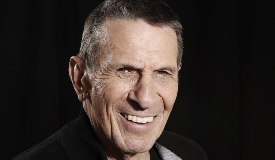 FILE - In this April 26, 2009 file photo, actor Leonard Nimoy poses for a portrait in Beverly Hills, Calif. Julie Nimoy and her fiance, David Knight, said they are developing a film to help those with chronic obstructive pulmonary disease, known as COPD, that claimed her father's life. In a statement given to the Associated Press on Tuesday, April 7, 2015, Julie Nimoy said the documentary will detail the latest COPD therapies and treatments. In retrospect, she said, her father would have benefited from such information.  (AP Photo/Matt Sayles, File)