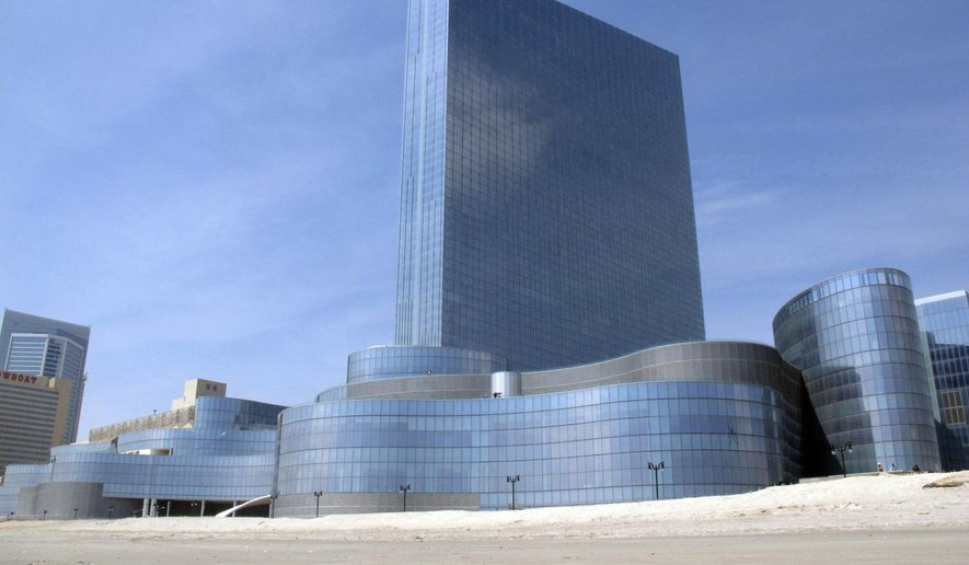 This April 8, 2013 photo shows the former Revel casino in Atlantic City N.J. On Tuesday, April 7, 2015, the casino is expected to change hands when Florida developer Glenn Straub closes a deal to buy it out of bankruptcy court for $82 million. The casino cost $2.4 billion to build. (AP Photo/Wayne Parry)