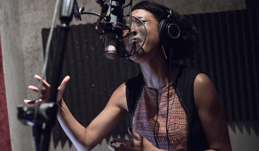 "FILE - In this Sept. 22, 2014 file photo, Judith Hill attends Reggie Benjamin's ""Mission Save Her"" recording session in Los Angeles.Hill is set to open for Prince during his pop-up tour nationwide. (Photo by Richard Shotwell/Invision/AP, File)"