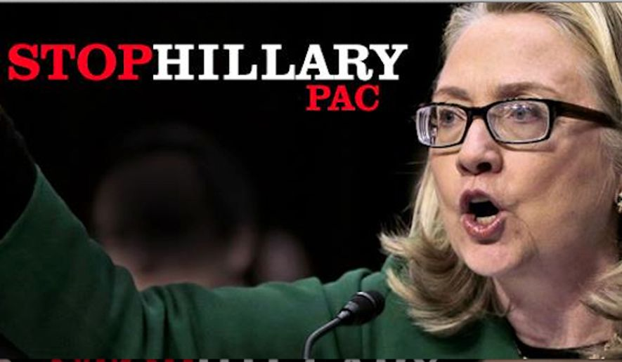 The Stop Hillary PAC has new money, and lots of members. (Stop Hillary PAC)