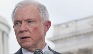 "Sen. Jeff Sessions, Alabama Republican, said the ""doc fix"" would cost taxpayers a net $141 billion over the next decade, and would bring Congress disrepute. (Associated Press)"