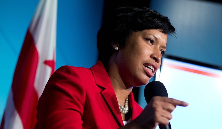 D.C. Mayor Muriel Bowser said attacking homelessness and affordable housing were two of her guiding priorities when creating her first budget for the city, which proposes sales tax and parking garage tax hikes, and cuts some funding to the University of D.C. (Associated Press)