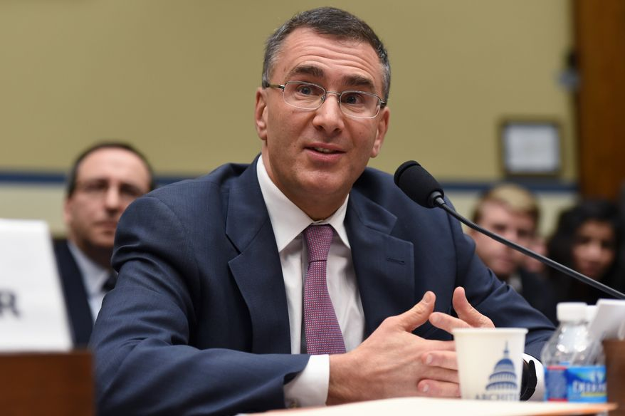 MIT economist Jonathan Gruber, a key architect of Obamacare, testifies on Capitol Hill in Washington, Tuesday, Dec. 9, 2014, before the House Oversight Committee health care hearing. (AP Photo/Molly Riley) ** FILE **