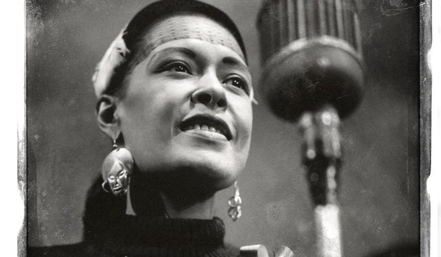 """This CD cover image released by Sony Legacy shows """"The Centennial Collection,"""" by Billie Holiday. (AP Photo/Sony Legacy)"""