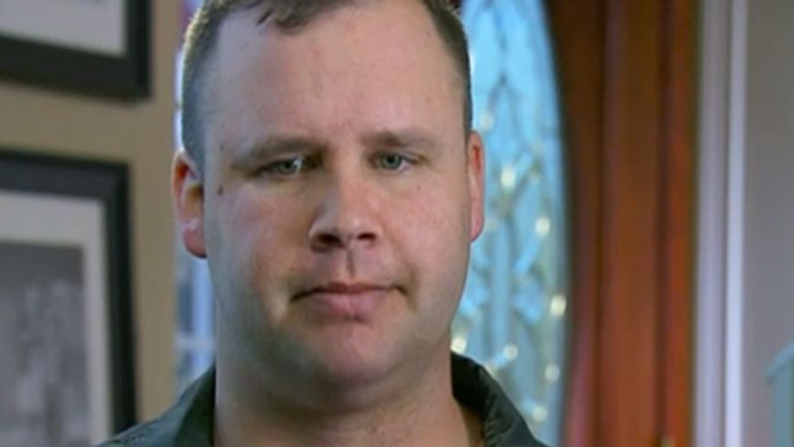 Army veteran Shawn Manning was shot six times by Maj. Nidal Hasan on Nov. 5, 2009 during the Fort Hood terrorist attack. (Image: Fox News screenshot)