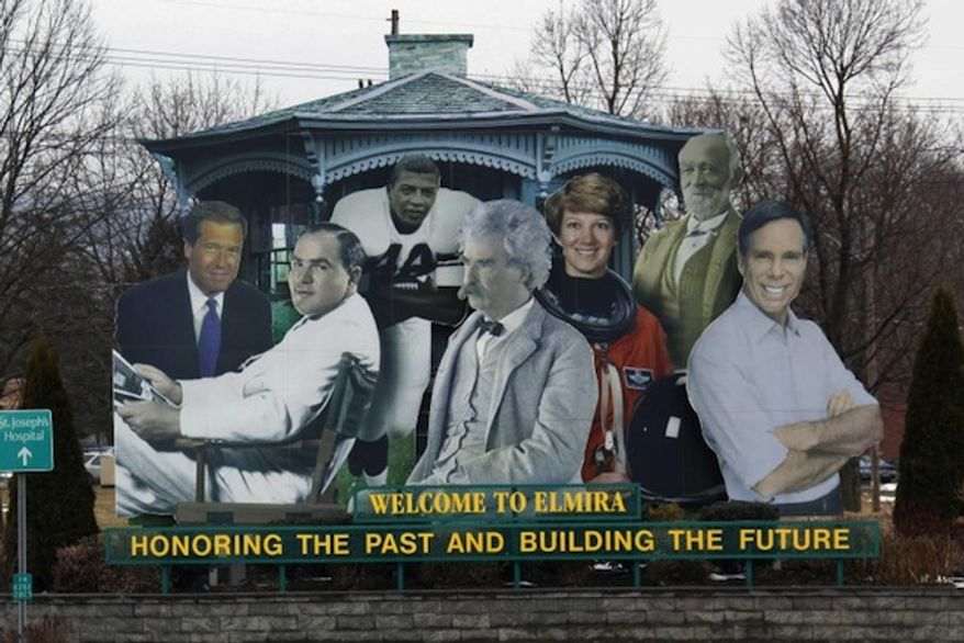 The mayor of Brian Williams' hometown in upstate New York has denied requests to remove the embattled NBC News anchor's likeness from the town's welcome sign. (Associated Press via New York Post)