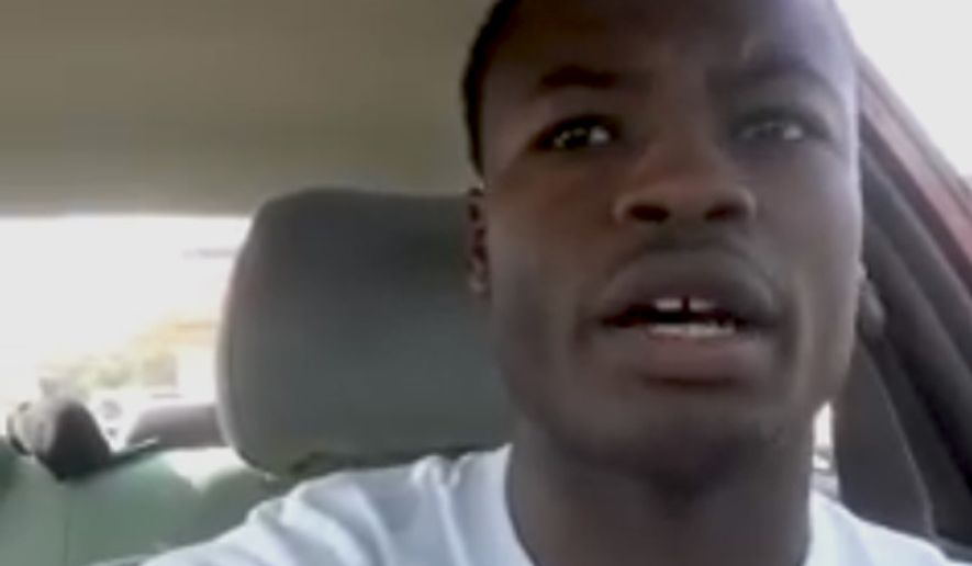 U.S. Army National Guardsman Will Stack posted a video on his recent traffic stop in South Carolina. The positive message has gone viral. His video has over 1 million shares on Facebook since April 8, 2015. (Image: Facebook, Will Stack)