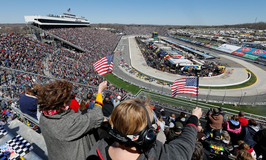 NASCAR America is changing, according to one veteran pollster. (Image form the Associated Press)