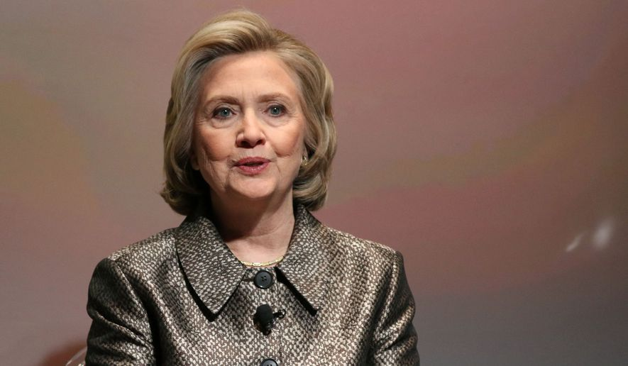 Hillary Rodham Clinton has attempted to allay the furor over her exclusive use of a private email account hosted on a private server in her home for conducting official business as secretary of state, a practice that may have violated federal open records laws. (Associated Press)