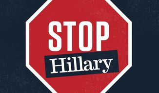 Stop Hillary campaign image from the Republican National Committee