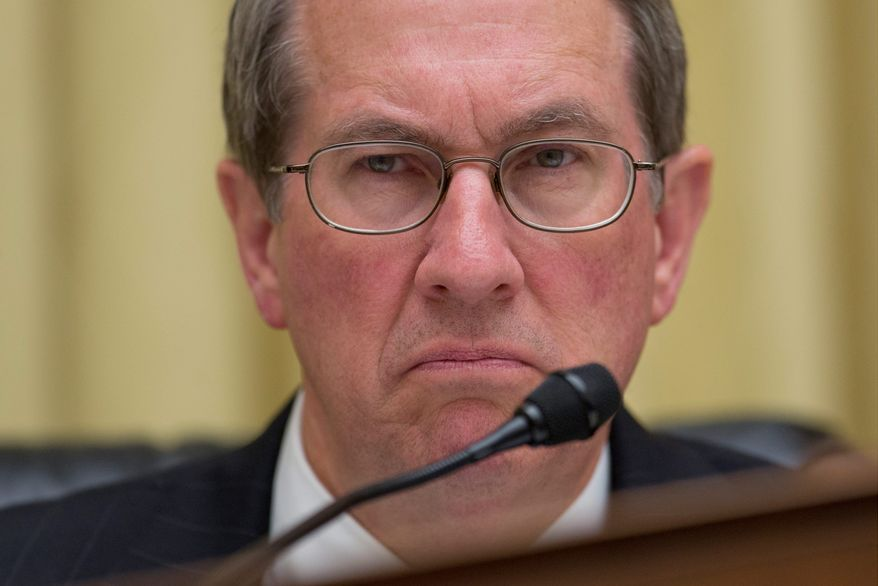 House Judiciary Committee Chairman Bob Goodlatte, Virginia Republican, on Tuesday confronted ICE Director Sarah Saldana over her agency's record. (Associated Press)