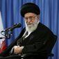 Supreme Leader Ayatollah Ali Khamenei of Iran. (Associated Press) ** FILE **