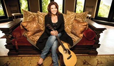"""Music inspired me from an early age, and I was naturally drawn to lyrics that tell great stories. I loved concept records like those of The Beatles. It's in my nature to know how songs work and how to rhyme in a poetic way,"" Rosanne Cash said. (ontourpr)"
