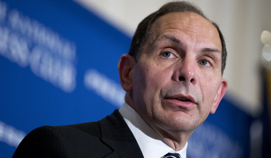 "Veterans Affairs Secretary Robert McDonald fired back at Congress for punishing the scandal-ridden agency by cutting the president's proposed funding. In remarks to the American Legion's annual convention, he accused lawmakers of using the VA to score political points, making it a place where ""the needs of veterans are secondary to ideology."" (Associated Press)"